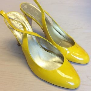 J.crew yellow shoes size 8 1/2
